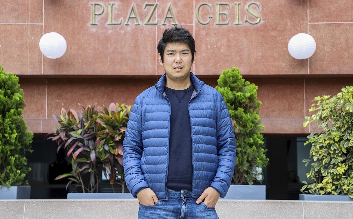 Doomo Saltado, Edinho Hayashida, Universidad del Pacífico